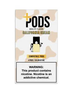 PLUS PODS CALIFORNIA CREAM