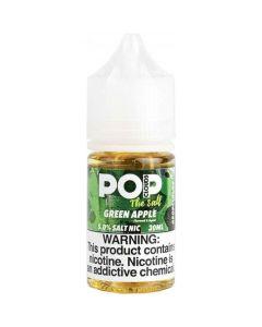 POP CLOUDS THE SALT NICOTINE GREEN APPLE