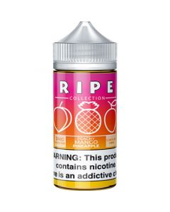 RIPE COLLECTION BY VAPE 100 E-LIQUID PEACHY MANGO PINEAPPLE