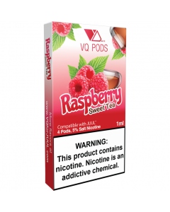 VQ PREFILLED REPLACEMENT PODS RASPBERRY SWEET TEA