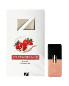 ziip pods strawberry milk juul