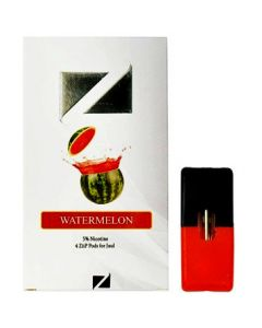ziip pods watermelon 4 pack
