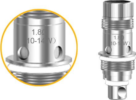 1.8Ω 10-14W coil