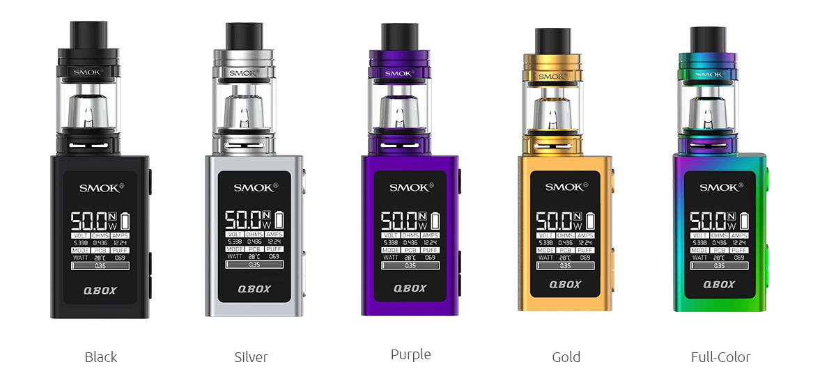 Black, Silver, Purple, Gold, Full-Color (7-color)