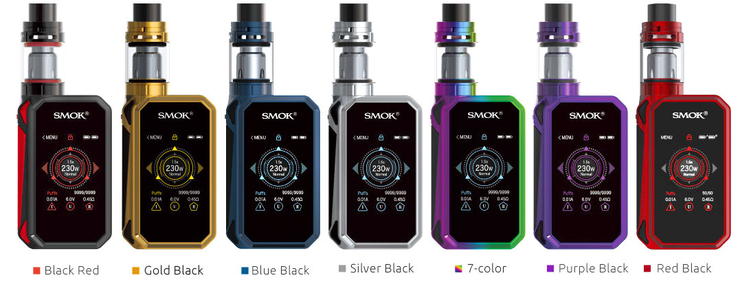 Available in colors: black red; gold black; blue black; silver black; 7-color; purple black; red black