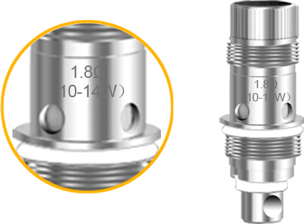 Aspire Zelos Coil 1.8Ω 10-14W coil