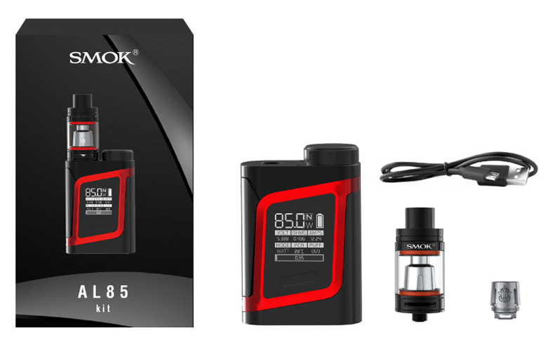 smok al85 Alien Baby kit includes