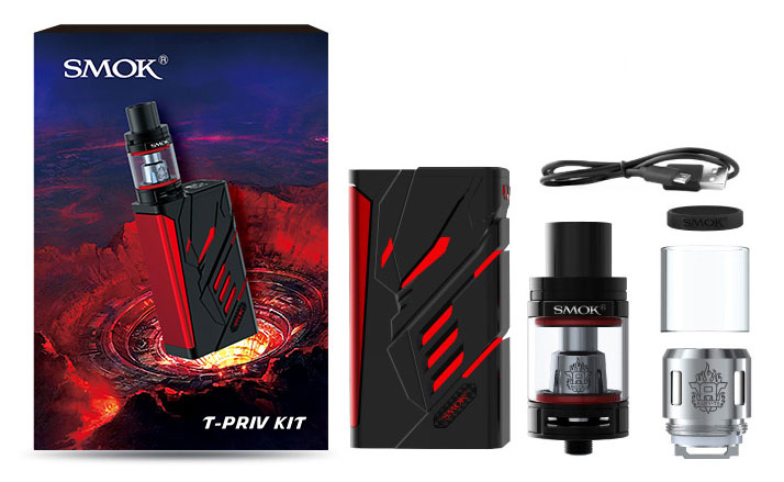 Smok T-Priv Kit contents