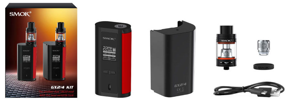 What is included with the Smok GX2/4 Kit
