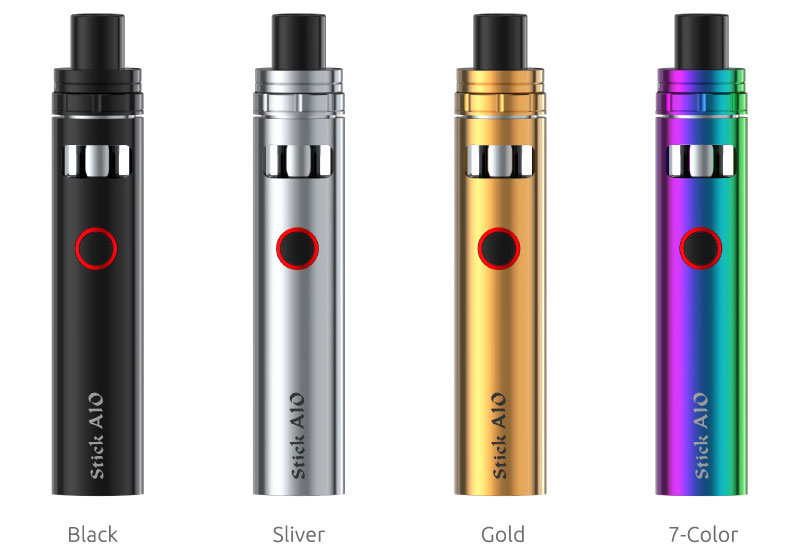 Smok Stick AIO Available Colors: Black, Silver, Gold, 7-color
