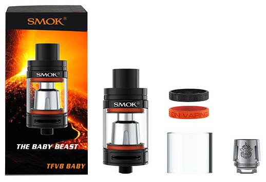 TFV8 Baby beast tank includes