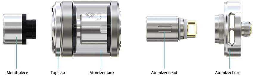 visual of reassembled Elabo tank