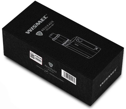 Wismec - Reuleaux RX mini 80W TC Kit box