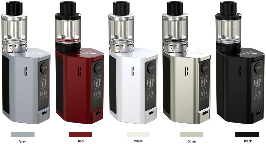 Wismec Reuleaux RX Mini Available Colors: Grey, Red, White, Silver, Black