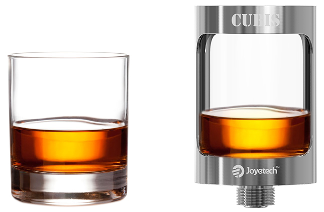 OzoneSmoke Joyetech Cubis the innovative and leak resistant cup design ensures a No-Spill atomizer.